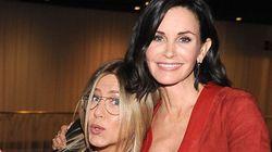 Courtney Cox en a marre que Jennifer Aniston soit associée au divorce de Brad