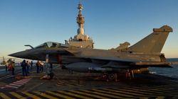 Plusieurs Rafale français volent vers Mossoul pour frapper