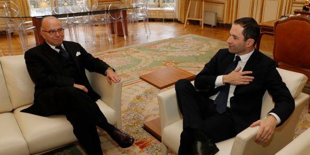 Bernard Cazeneuve a reçu Benoît Hamon à