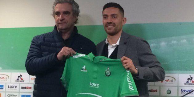 Menacé par les supporters, Anthony Mounier reste trois jours chez les Verts et quitte le