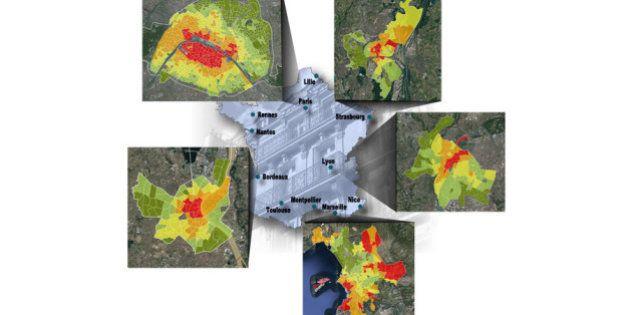 Quartier par quartier, la carte des prix de l'immobilier à Paris et dans 10 grandes