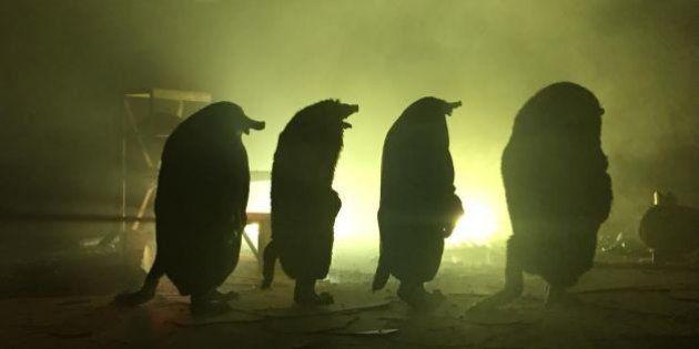 Pour la Nuit Blanche, les taupes de Philippe Quesne envahissent