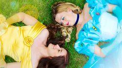 Ce couple de femmes montre les princesses sous un nouveau