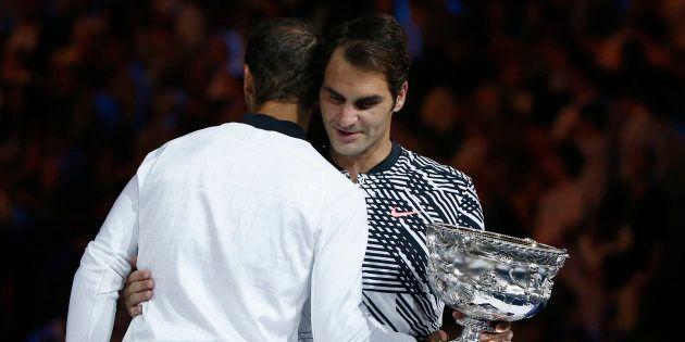 Roger Federer, le miracle de Melbourne. REUTERS/Thomas