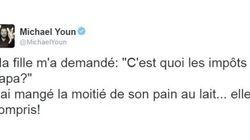 Michaël Youn tente une blague sur Twitter, et c'est le