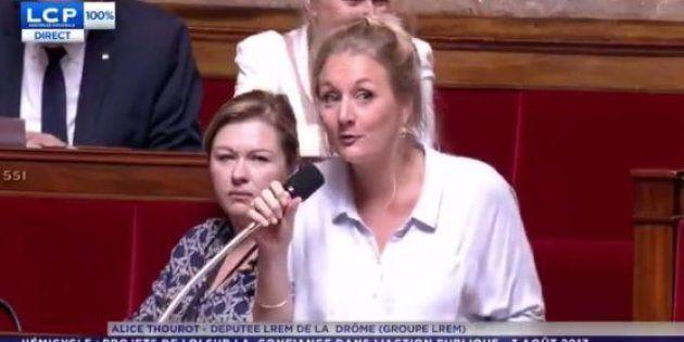 Assemblée nationale: la députée LREM Alice Thourot visée