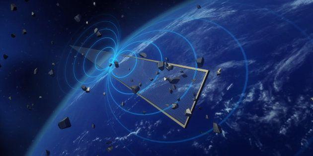Le système antidébris de l'agence spatiale européenne ne fonctionne pas comme il le