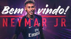 Neymar signe officiellement au Paris