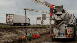 Malgré la maire de Calais, l'État poursuit la construction du mur