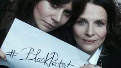 En Pologne, Juliette Binoche soutient les femmes contre l'interdiction de