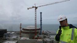 A Flamanville, non au nucléaire et à l'exploitation des ouvriers