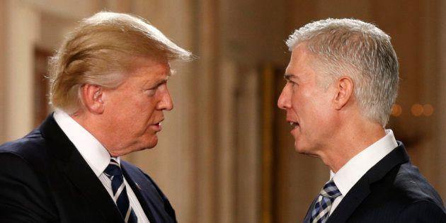 Neil Gorsuch, le juge nommé par Trump à la Cour suprême, va plaire à la droite