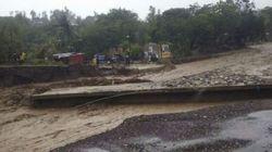 Ouragan Matthew: un pont s'effondre en Haïti et isole le sud du reste du