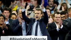 Macron dépasse Fillon dans un sondage, se rapproche de Le Pen dans un