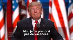 Quand Trump disait qu'il n'avait