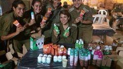 Ces femmes soldats israéliennes avec des produits Garnier créent la