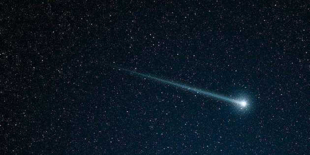 Un météore a illuminé le ciel dans le sud de la France (photo