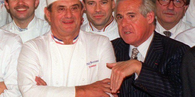Christian Millau (à droite) et Paul