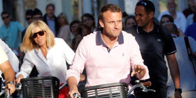 Emmanuel Macron -ici au Touquet, le 17 juin 2017