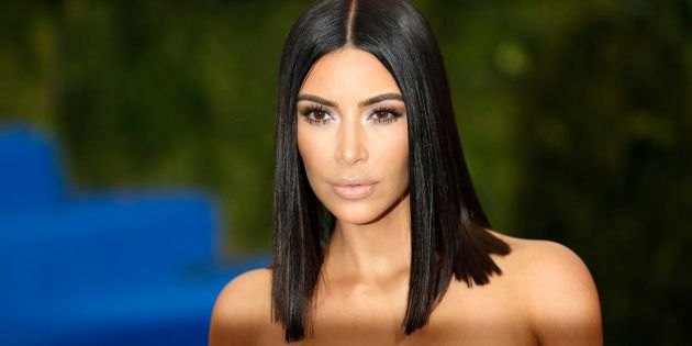 Kim Kardashian au gala du Met le 1e
