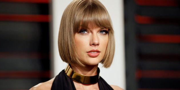 Taylor Swift à la soirée Vanity Fair après les Oscars, le 28 février