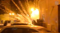 Les images des violents affrontements à Bastia entre forces de l'ordre et jeunes