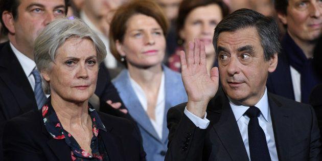 Penelope et François Fillon le 29 janvier à