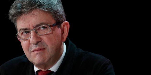 Jean-LucMélenchon, le candidat qui ne veut pas gagner l'élection présidentielle. REUTERS/Christian
