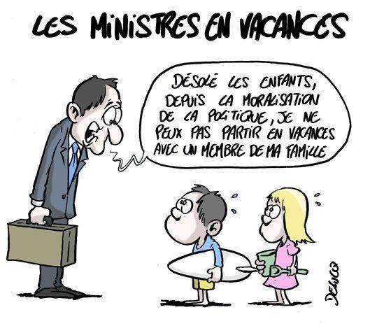 En vacances, quelles règles les ministres doivent-ils