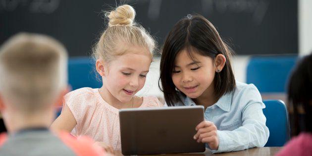 Le numérique à l'école, un investissement d'avenir.