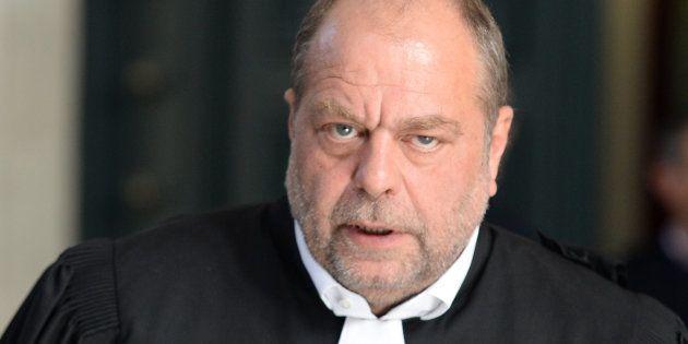 Eric Dupond-Moretti au tribunal de Bordeaux le 10 mai