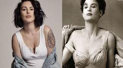 27 ans après, la fille de Demi Moore rejoue ses poses pour