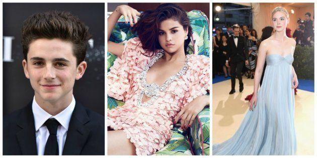 Timothée Chalamet / Selena Gomez / Elle