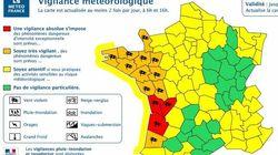 Trois départements du Sud-Ouest placés en alerte rouge pour vents