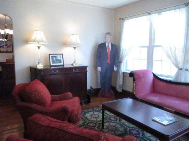 Si vous voulez dormir dans la maison d'enfance de Trump, il faudra débourser 620€ la