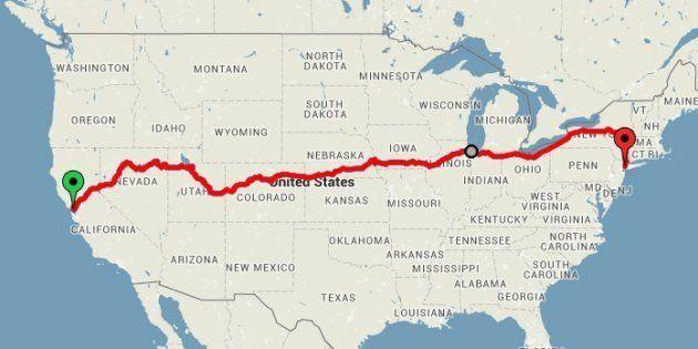 Le meilleur itinéraire en train pour voir les plus belles choses aux États