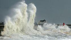 La tempête dans le Sud-Ouest pourrait provoquer des rafales de 160