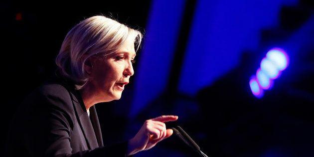 Marine Le Pen en Allemagne le 21