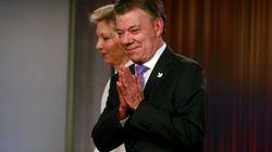 Juan Manuel Santos, Président colombien, prix Nobel