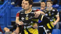 Pour son premier match de handball, Florent Manaudou a eu le droit à 7 minutes sur le