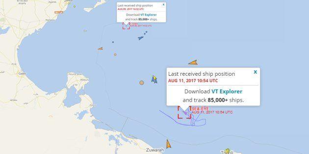 C-Star : une ONG pro-réfugiés porte secours au bateau anti-migrants, qui refuse