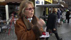 On a suivi le tractage de militants de Fillon en plein