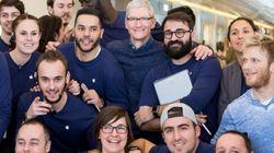 Tim Cook fait une visite surprise dans un Apple Store de