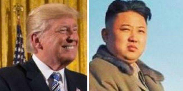 Quelqu'un a osé inverser les cheveux de Trump et Kim