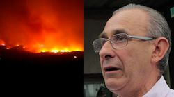 L'émotion du maire de Sisco face aux incendies en