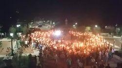 Saluts nazis, torches et armes lourdes, les images hallucinantes d'un rassemblement d'extrême-droite aux