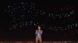 Comment ont été créées les centaines d'étoiles du show de Lady Gaga à la mi-temps du Super