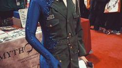 Au Comic Con de New York, sa tenue n'est pas passée