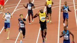 Usain Bolt blessé sur la piste pour la dernière course de sa
