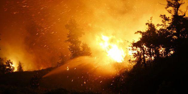 Corse: un homme mis en examen et écroué pour incendie
